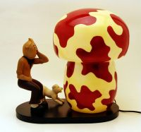 Indoor Decor - Tintin Mushroom Lamp SALE
