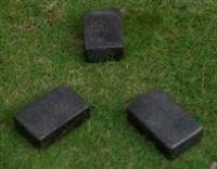 Concrete Terrazzo Feet Flat 75x50x25 H mm- Block Set of 4