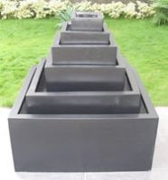 Low Cube Planters Premium Lightweight Terrazzo   - 3 sizes