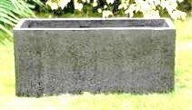 Concrete Terrazzo Oblong Planter 800 x 300 x 400 H mm - Size 2