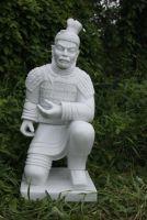 Kneeling Warrior Statue