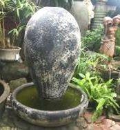 Ocean Rock Tear Drop Urn Fountain Set