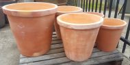 Terracotta Crucible Planter - 3 Sizes - FINAL CLEARANCE