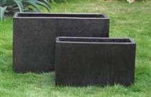 Concrete Terrazzo Divider Trough 600 x 250 x 400 H mm - Size 2