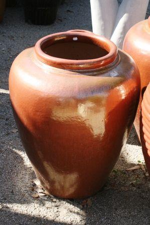 Glazed Siam Jar 620 x 800 H mm
