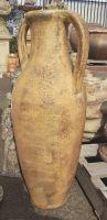 Ocean Rock Tall Amphora Urn with Handle
