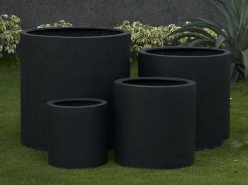 Cylinder Planter In Premium Lightweight Terrazzo 5 Sizes