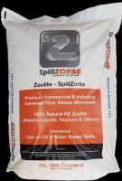 Spillzorbe odor absorbent for bins
