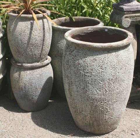 Ocean Rock Decor Jar - Size 1 - 420 x 480 H mm