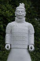 Standing Warrior Statue