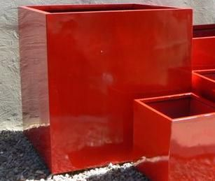 Lightweight Large Square (Cube) Planters - UV Stabilised for Outdoor Planting