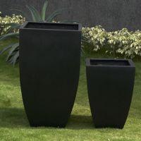 Premium Lightweight Terrazzo Tall Milan Planter  - 2 Size