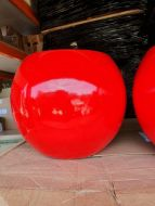 Lightweight Outdoor Ball Planter in Bright / Gloss Colours - 4 Sizes
