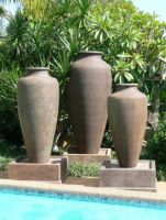 GRC Pietro Caduceus Fountain 840 x 2055 H mm - Size 3